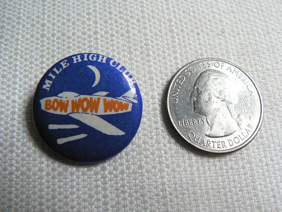 Vintage 80s Bow Wow Wow Mile High Club Single The Last Of The