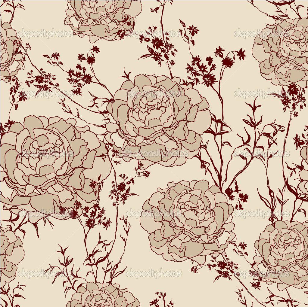 Floral Vintage Background - Explore tumblr backgrounds floral design and more