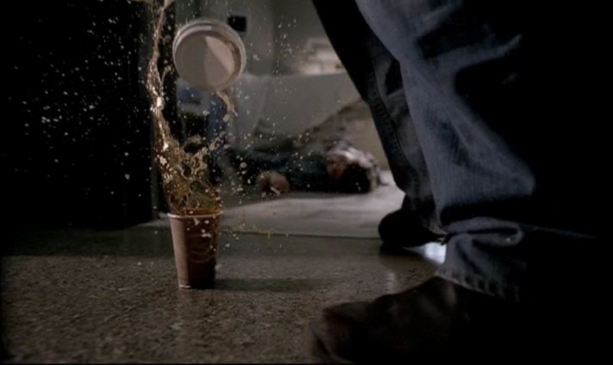 Supernatural -- 2x01: In My Time of Dying. 'John Winchester is pronounced dead at 10:41 a.m.'