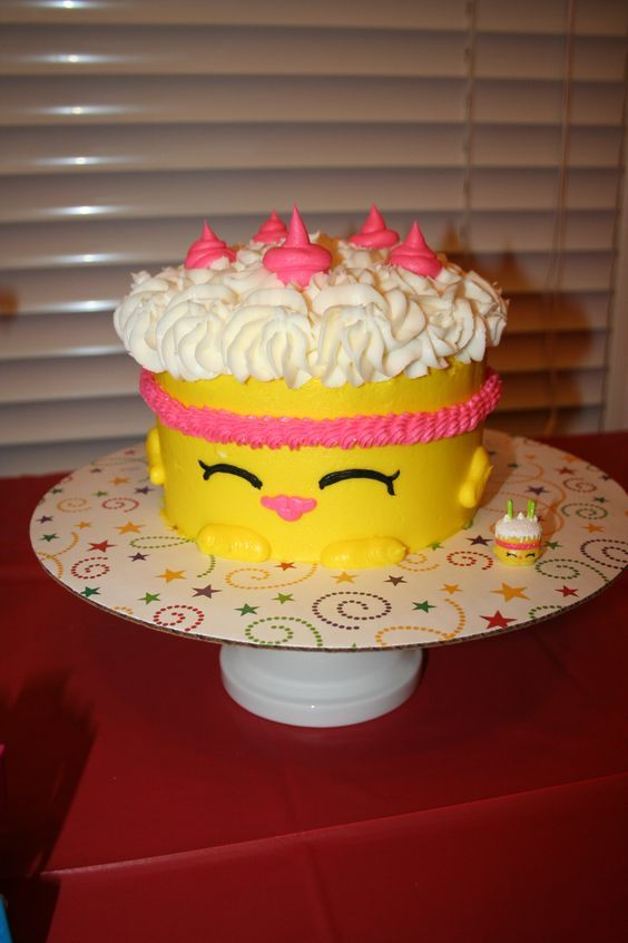 Image result for shopkins sheet cake ideas | shopkin birthday ...