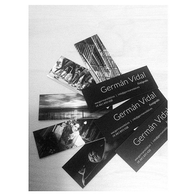 """Mis nuevas tarjetas -  Business cards  www.germanvidal.es  #business_cards #card #moo @MOO #blackandwhite #beautiful #dslr #GermanVidalFotografia…"""