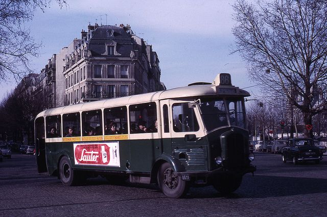 jhm 1966 0029 paris ratp autobus 1966 grandir a paris transports en commun public. Black Bedroom Furniture Sets. Home Design Ideas