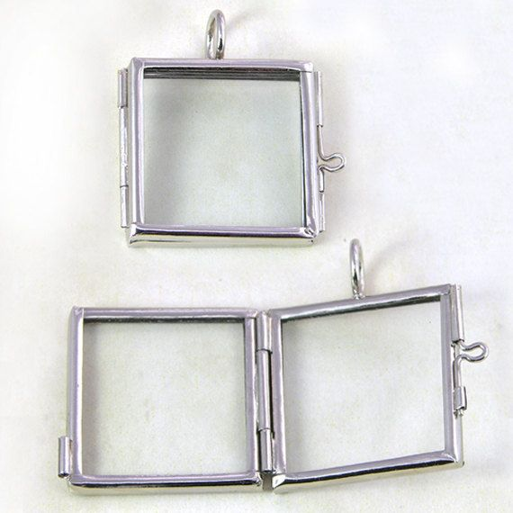 12 our glass locket frame pendants 12 hinged square nf g2328 12 our glass locket frame pendants 12 hinged square nf g232859 2600 via etsy aloadofball Choice Image