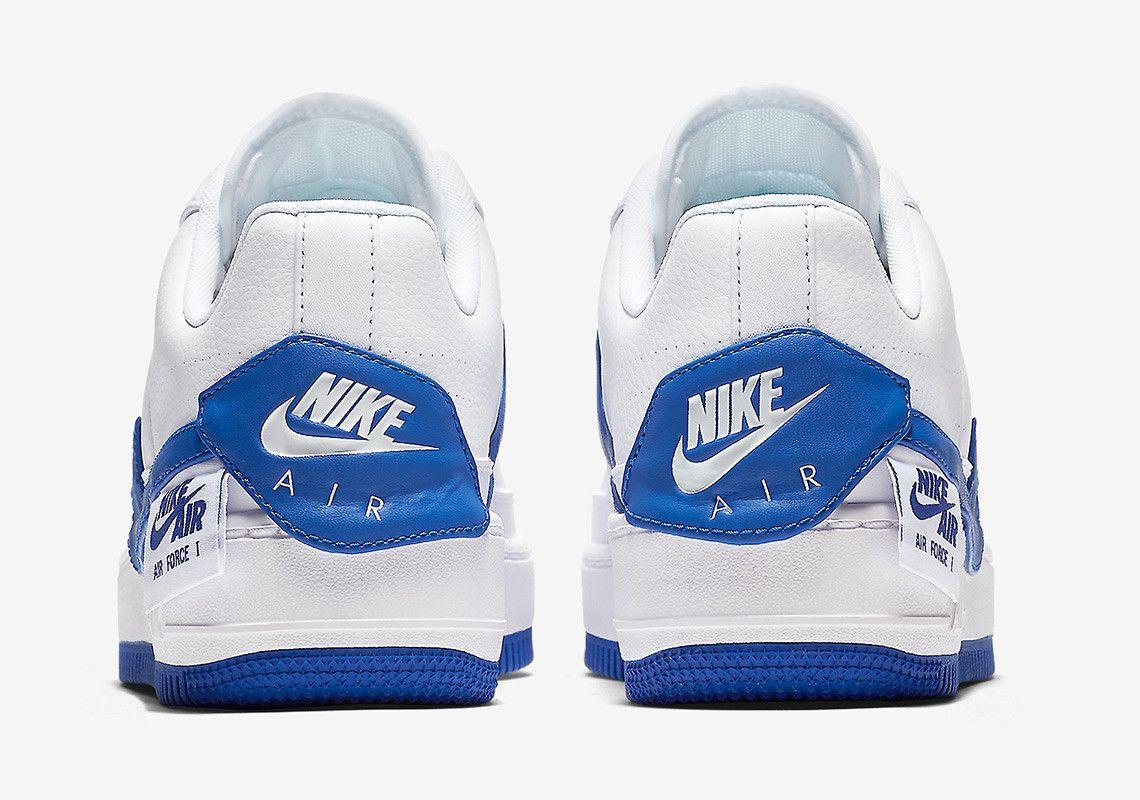 outlet store 79b6e 185c0 Nike Air Force 1 Homme Blanc Bleu