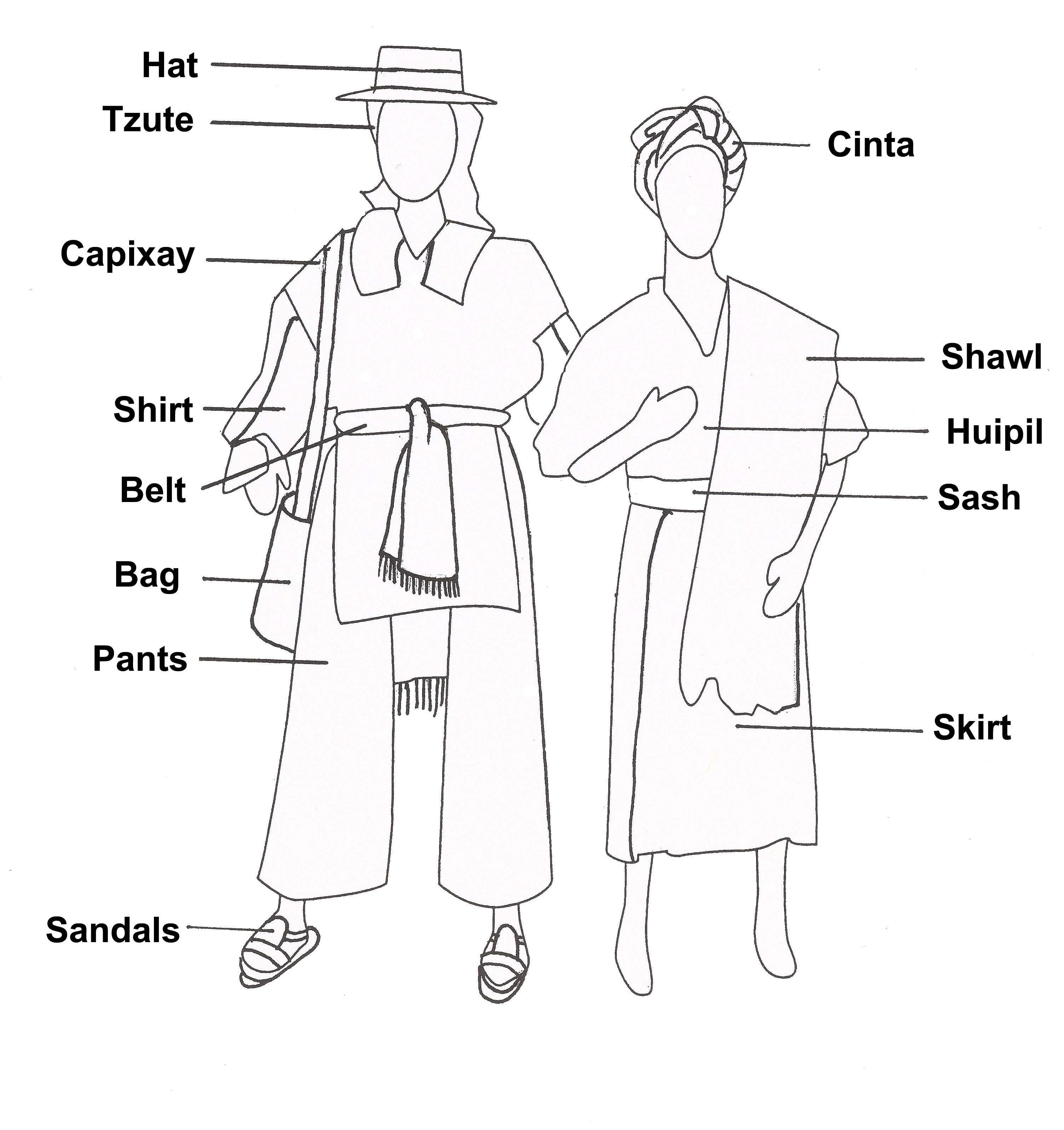 Ancient Mayan Costume