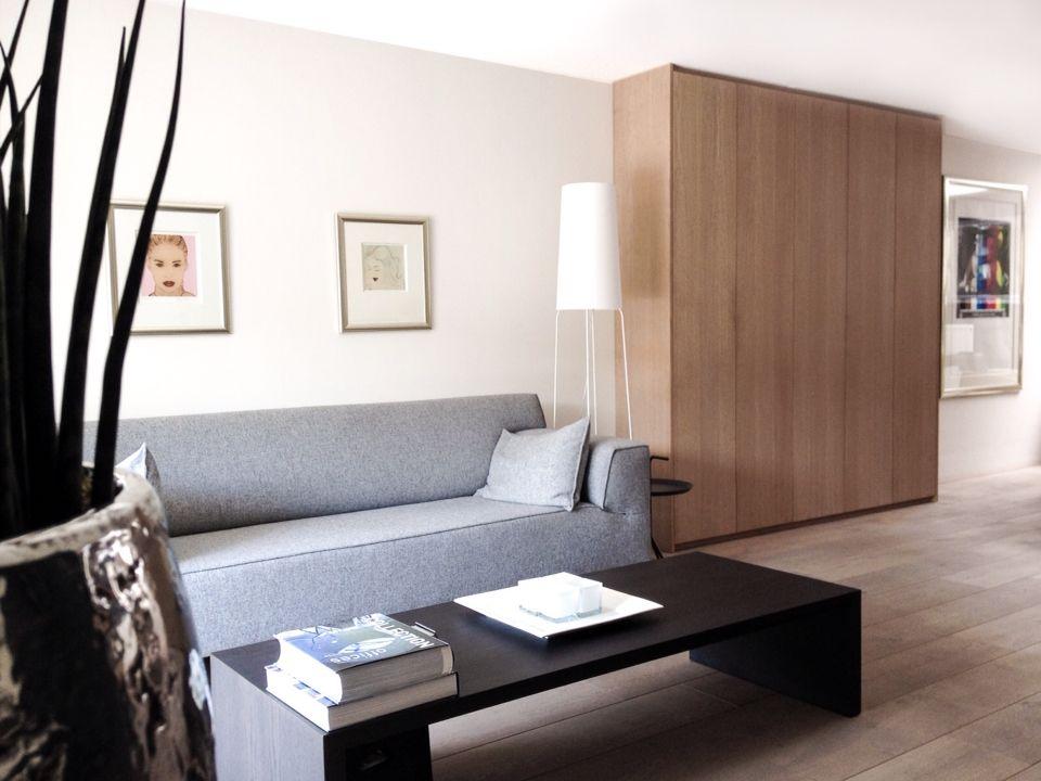 appartement centrum alkmaar eiken fineer kast op maat design on