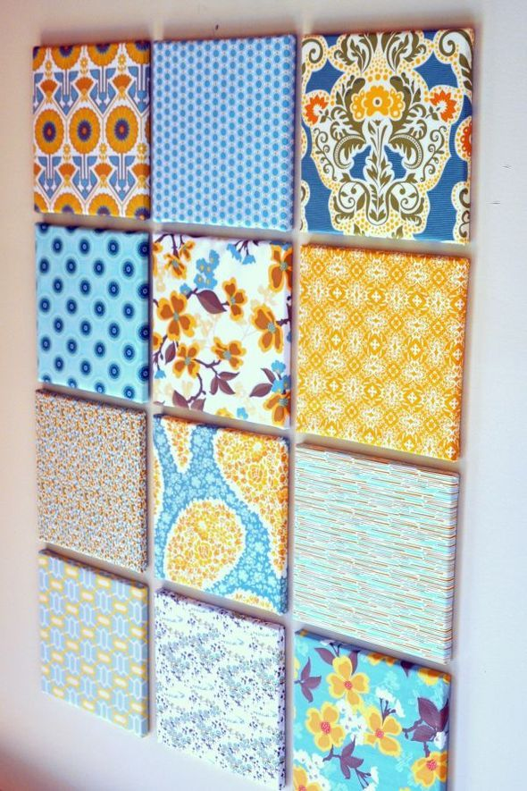 maybe not this fabric, but I love the idea! Could switch out the ...