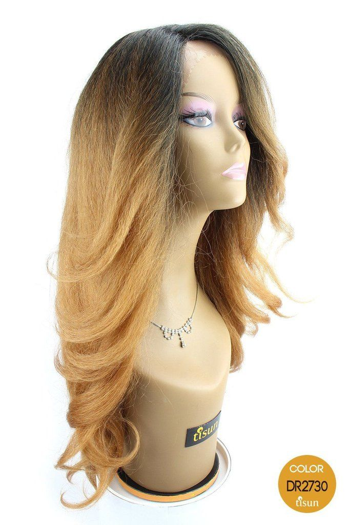 Outre Lace Front Wig Neesha Color Dr2730 Dark Root Off Black