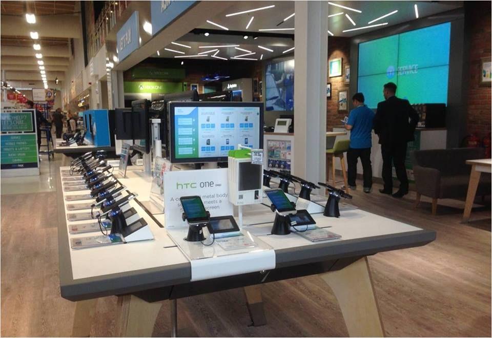 Smart Phone Displays & Interactive Merchandising Solutions