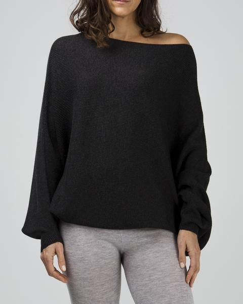 100% merino batwing jumper, (available in three shades) $159 www.sassind.com