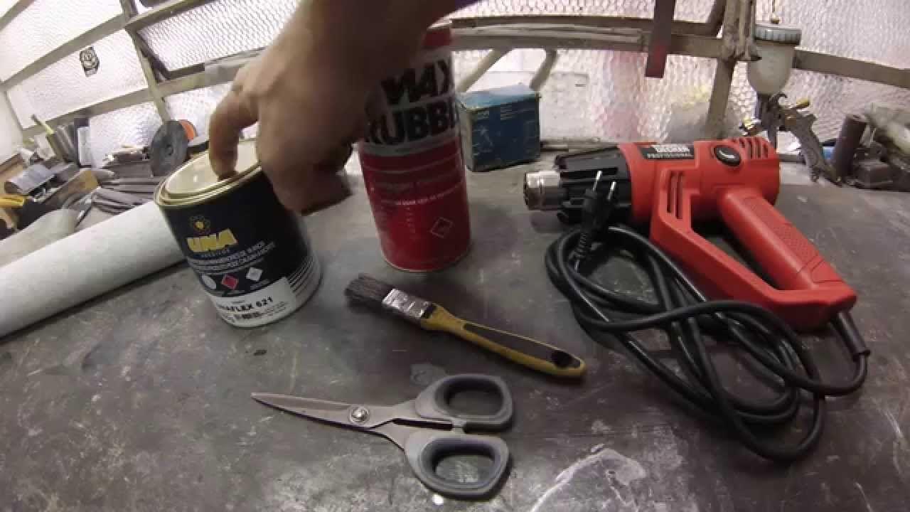 Biu Old Parts Restaurando O Dash Pad Do Ford Maverick Part 2
