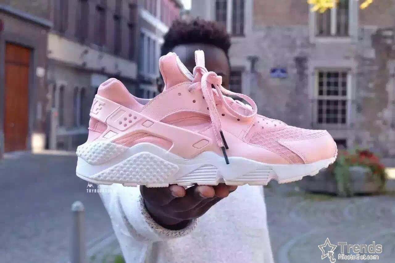 the latest fb930 714c1 Nike Air Huarache Flamant Rose Pink Womens
