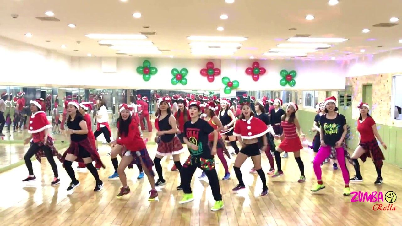 ZUMBA l All I Want For Christmas Is You l MELLISA l KOREA - YouTube ...