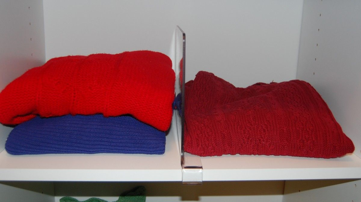 Lucite Shelf Dividers Organization Storage Solutions Shelf Dividers Storage Solutions