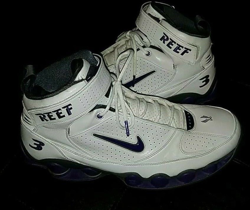 5678988e8dfa Nike Shox UPS Sacramento Kings Shareef Abdur Rahim  3 Basketball Men Size 17
