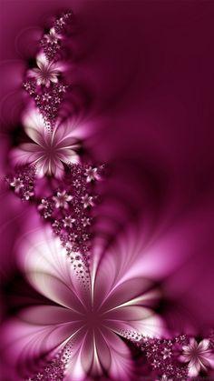 Flores Moradas Papeis De Parede De Celular Pinterest Art