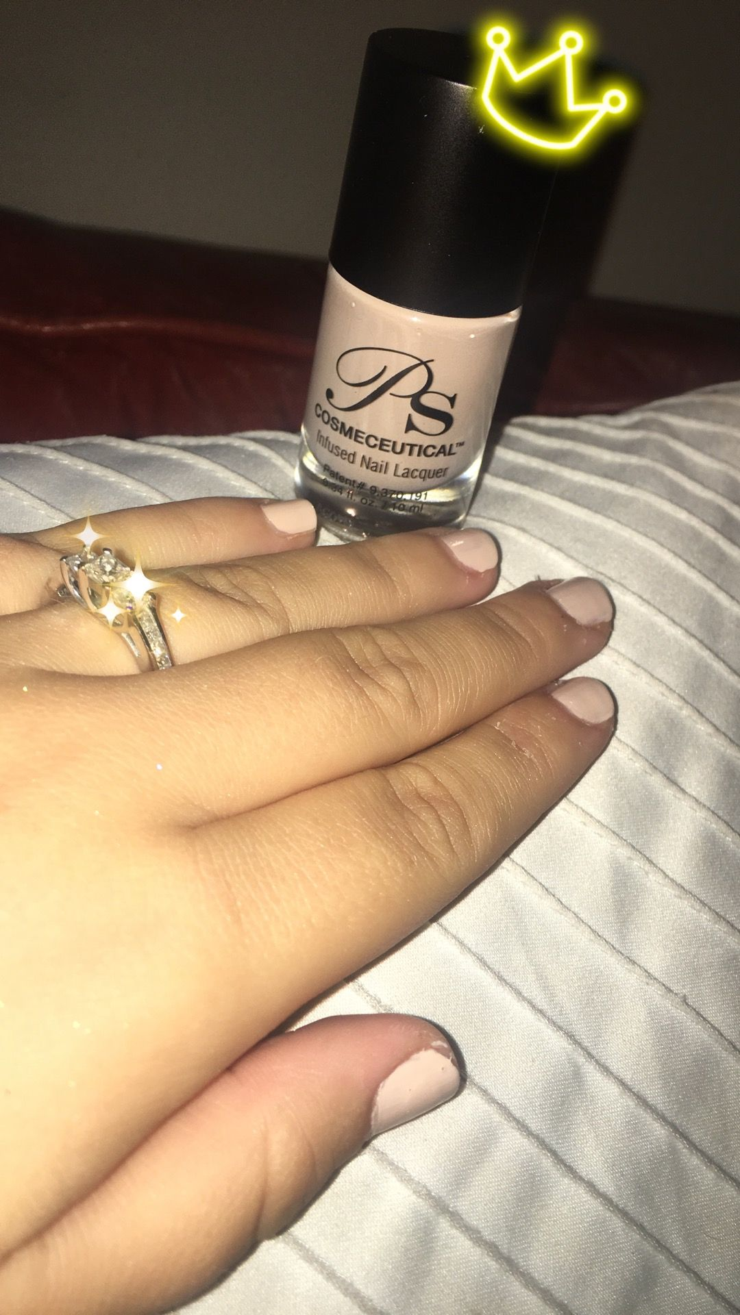New favorite nude nail polish Ps Cosmeceutical infused nail lacquer ...