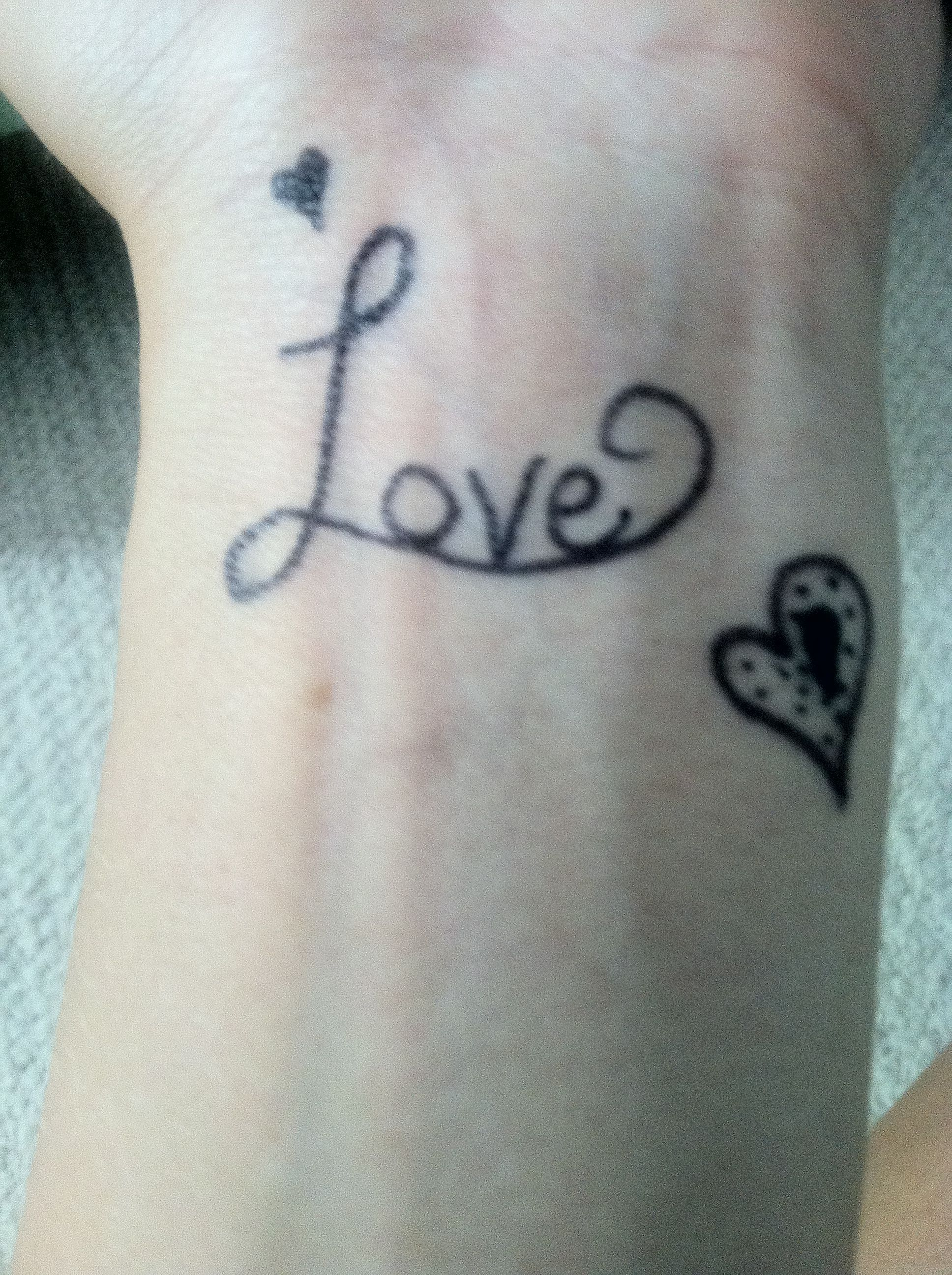 Photo of Sharpie Tattoo on my wrist;) – Homemade Tattoo 2020