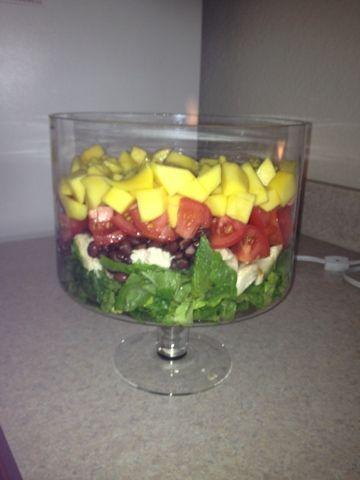 Mango Chicken Salad w/Lime Dressing