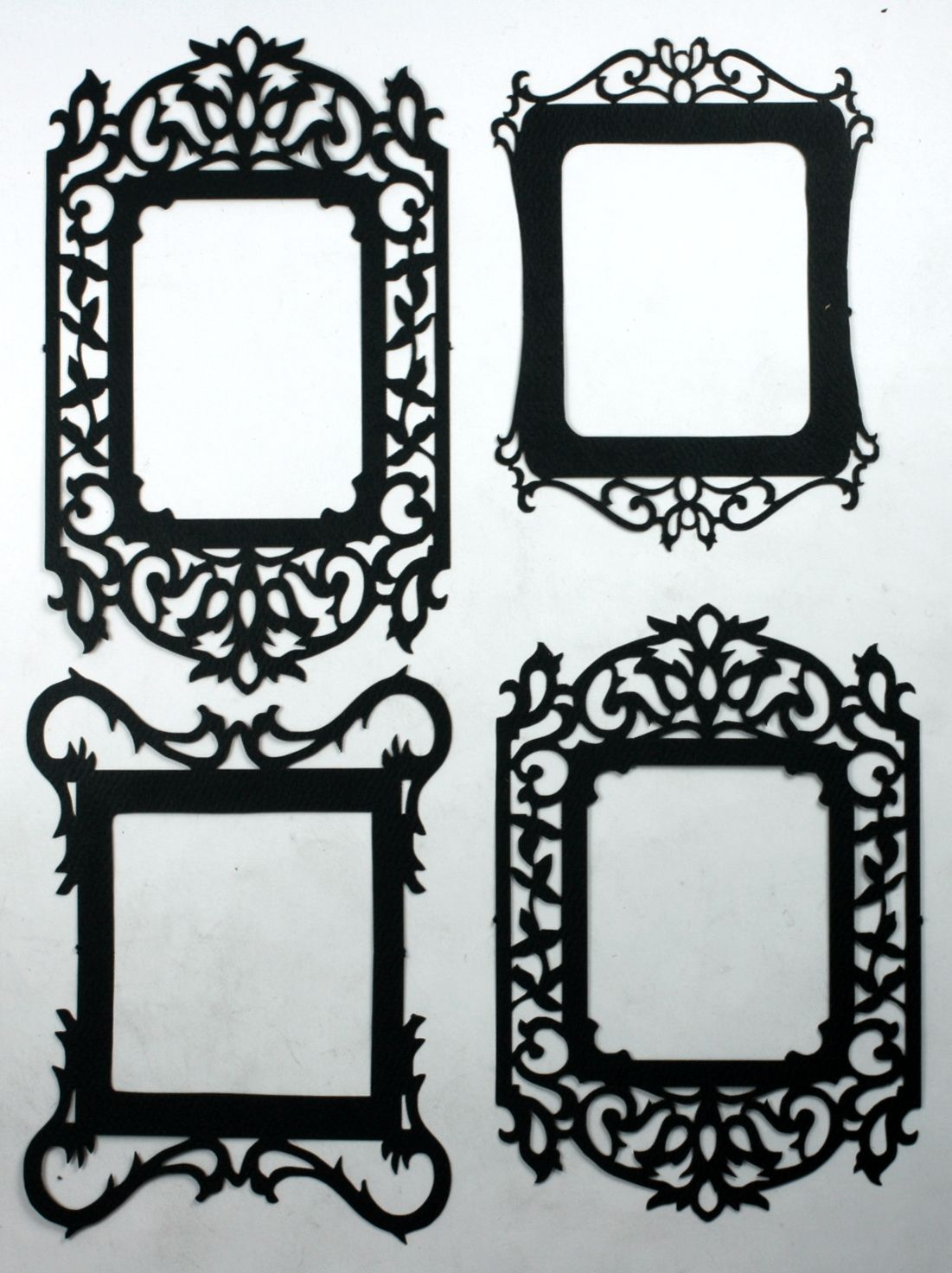 Vintage Fancy Frames - Silhouettes | Ink and papyrus | Pinterest ...