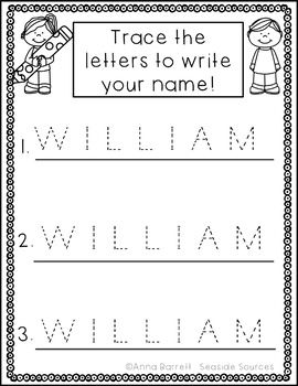 editable name tracing practice freebie pre school preschool names name tracing preschool. Black Bedroom Furniture Sets. Home Design Ideas