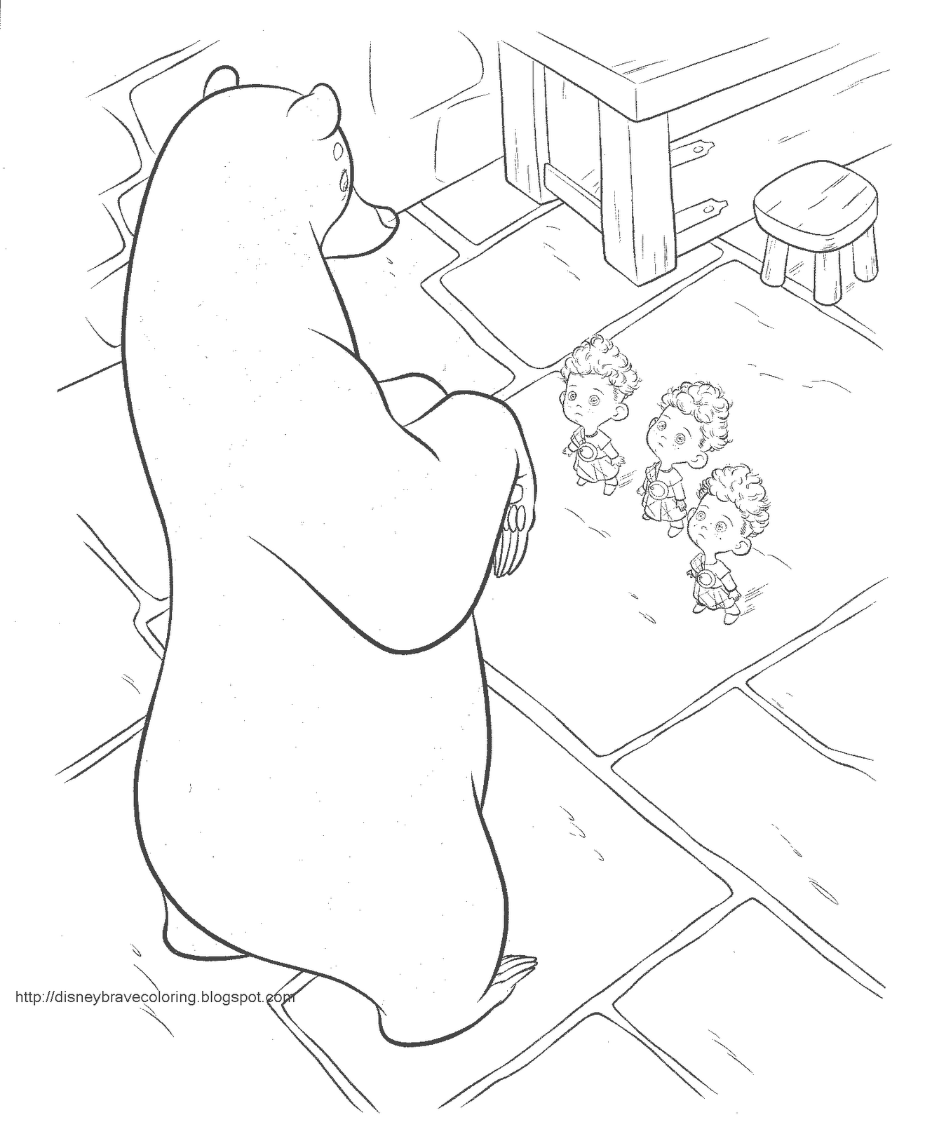 DISNEY COLORING PAGES: BRAVE COLOURING PICTURES | Z) Coloring Disney ...