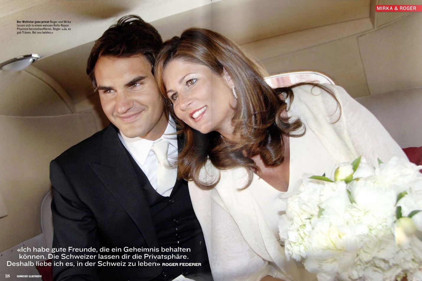 roger federer amp mirka vavrinec wedding photos r f