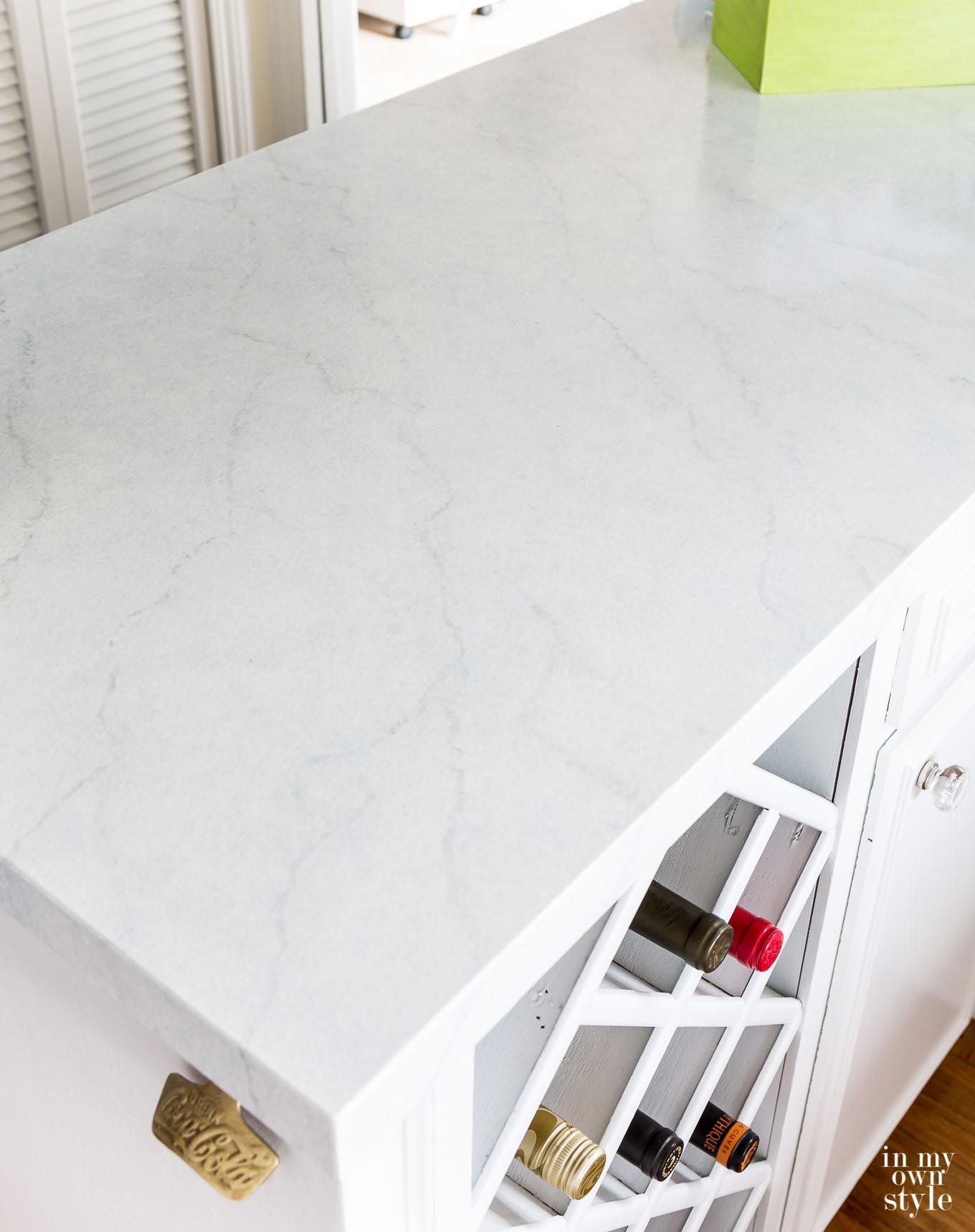 White Diamond Giani Countertop Painting Tutorial Faux Marbre
