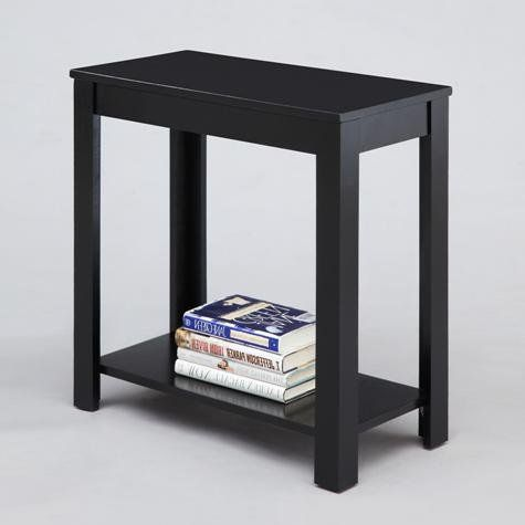 Brand New 24 X 12 X 24h Black Finish Pierce Chair Side Table More Info Could Be Found At The Image Url Chair Side Table Living Room Side Table End Tables