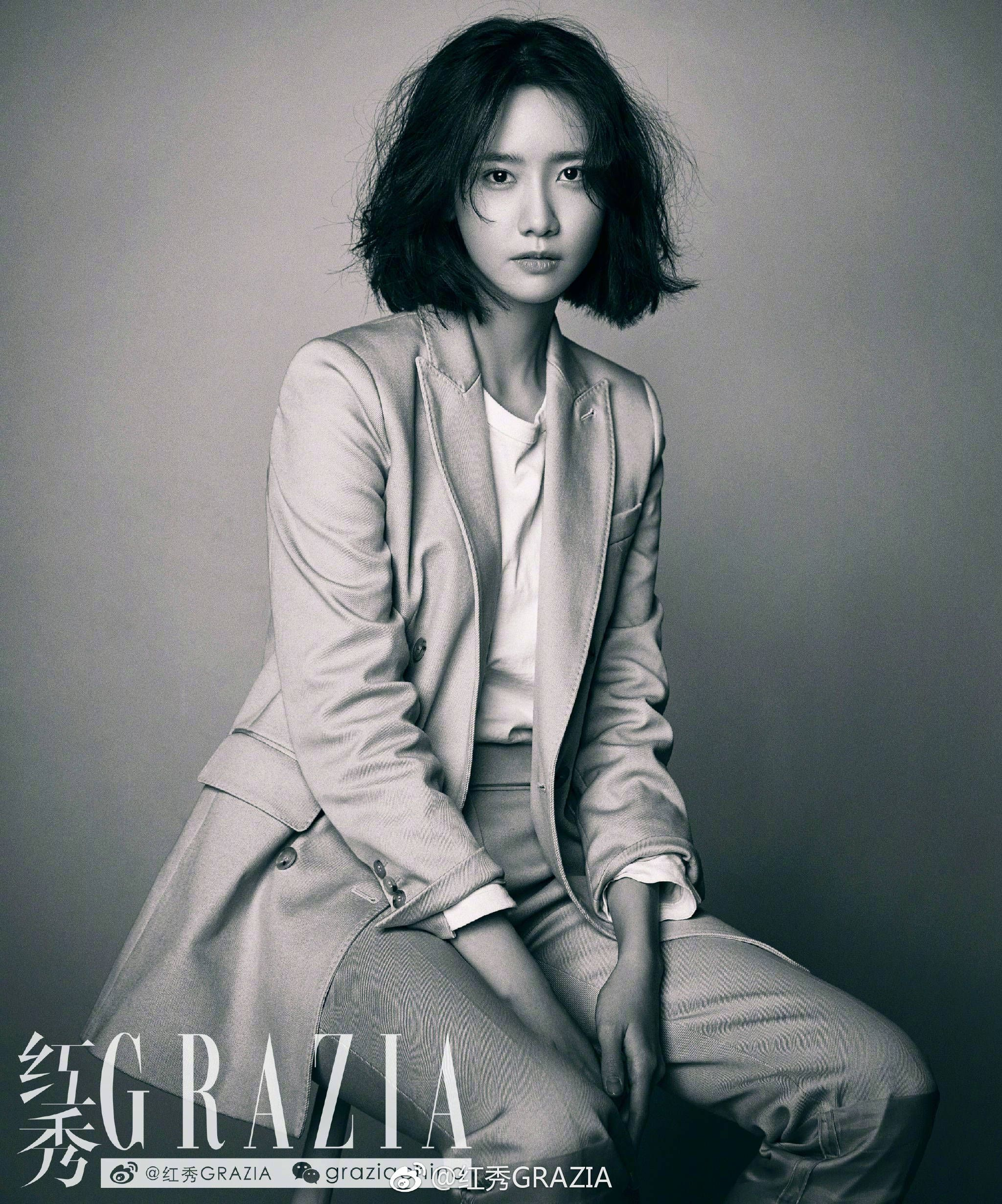 180114 GRAZIA magazine 2018 February Issue SNSD Yoona ...