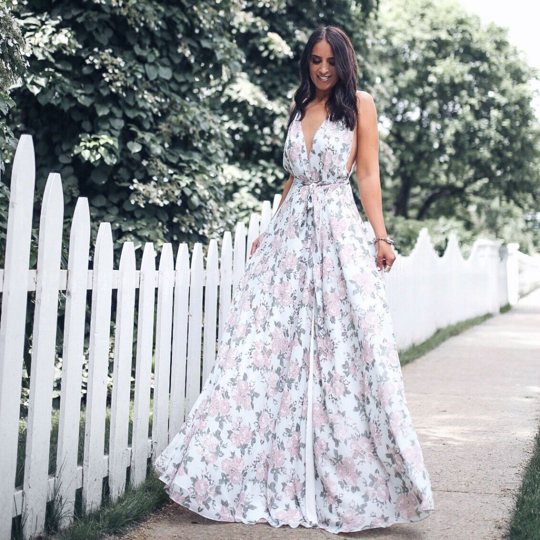 Instagram Maxi Dress Round Up The House Of Sequins Wedding Guest Dress Wedding Guest Dress Summer Wedding Guest Outfit [ 1080 x 1080 Pixel ]