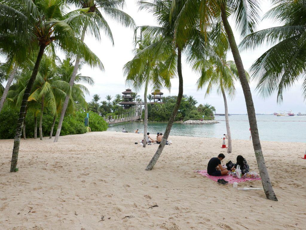 Beach In Singapore Sentosa Island Singapore Island Singapore Travel Palawan Island