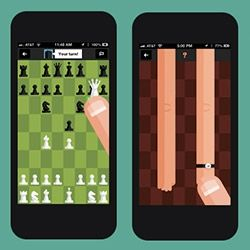 Tall Chess! Cute free chess app for iPhones (With images