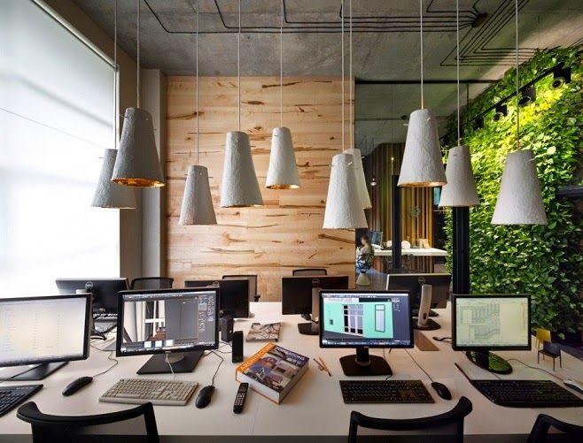 Oficina y showroom de taller de arquitectura sergey makhno for Arquitectura oficinas modernas