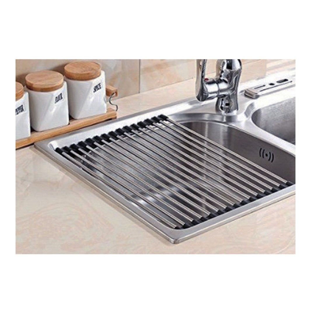 Clearwater Stainless Steel Roll Mat Sink Drainer 300 X 430mm