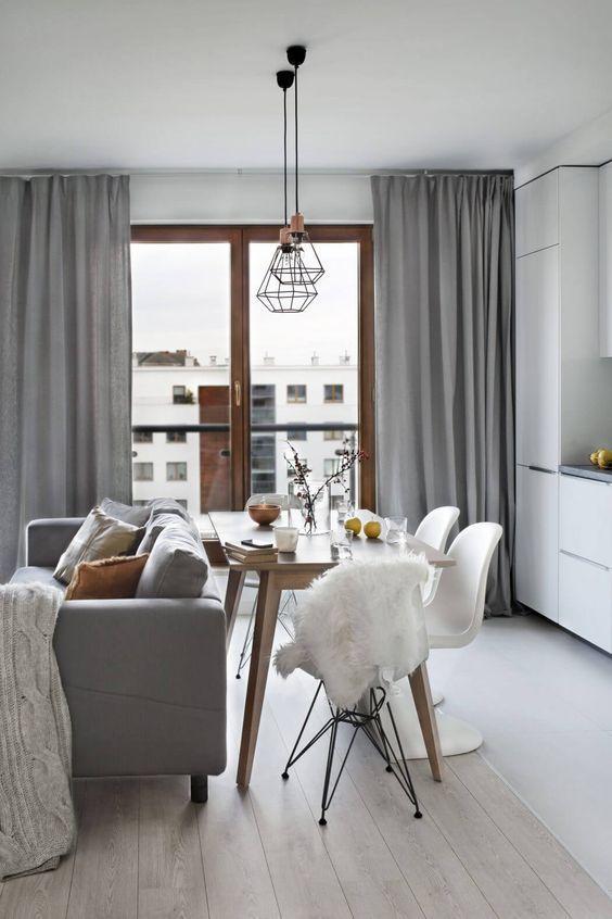 Grey curtain panels, custom curtains, custom Gray drapes, linen blend curtains, Silver grey curtains, 2 panels