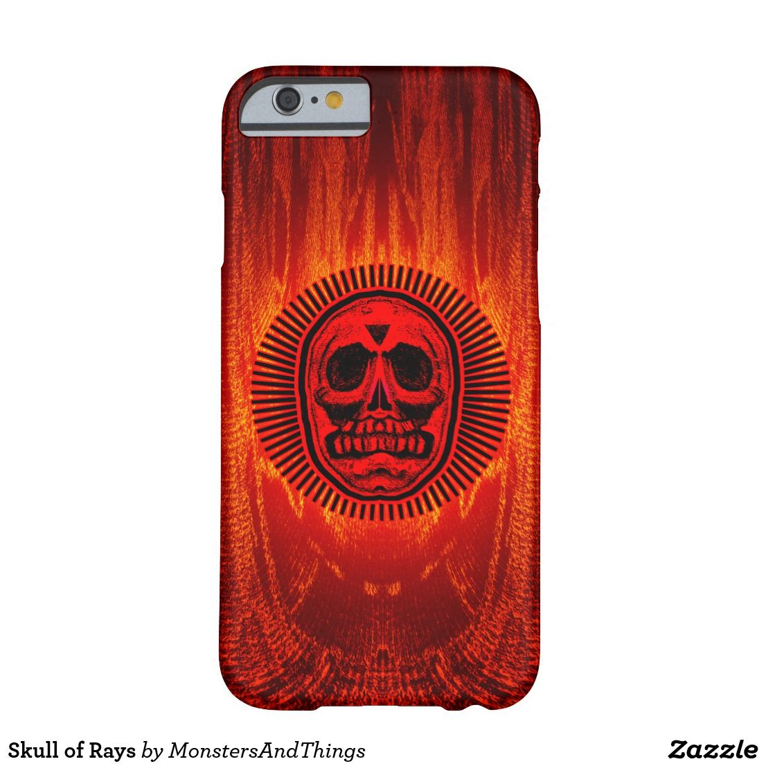 Skull of Rays Barely There iPhone 6 Case