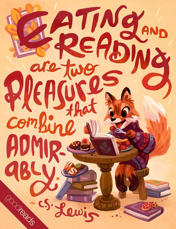 Lovely Illustrated Quotes For Goodreadsu0027 Monthly YA Newsletter.
