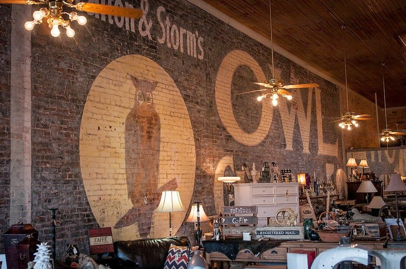 The Owl Wine Bar & Home Goods Store in Elgin, Texas
