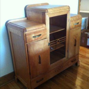 Buffet Armoire Art Deco