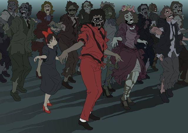 Its Such A Thriller Thriller Anime Night Imagenes De Terror