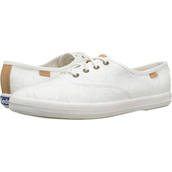5db0fb2dbf059 Keds Champion Circle Jacquard (White) Women s Lace up casual Shoes ( 40)  via Polyvore featuring shoes