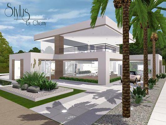 Modern Kindle Sims3 - Häuser Pinterest Häuschen - sims 3 wohnzimmer modern