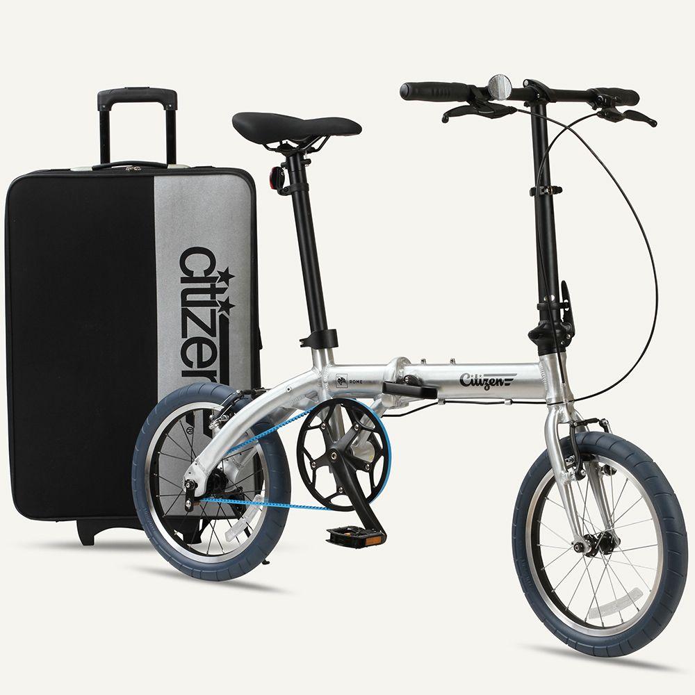 Rome Citizen Bike 16 1 Speed Ultra Light Folding Bike With Belt