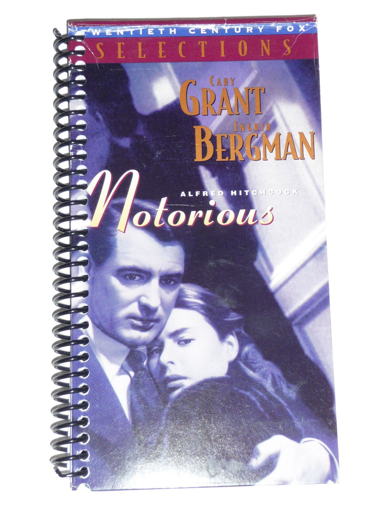 Notorious - VHS Movie Notebook