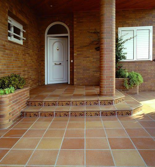 Gres porcel nico klinker greco gres r stico for Azulejos para patios exteriores