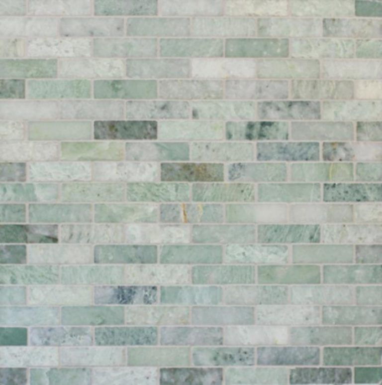 Green Marble Floors Ming Green Marble Tile In Brick Pattern For Beautiful Wall Ideas Photos Green Tile Backsplash Ming Green Tile Green Tile
