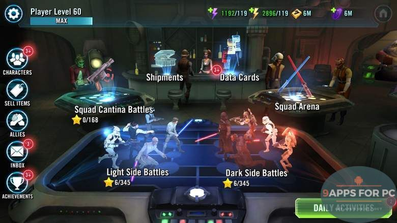star wars galaxy of heroes unlimited crystals apk | Android APKs