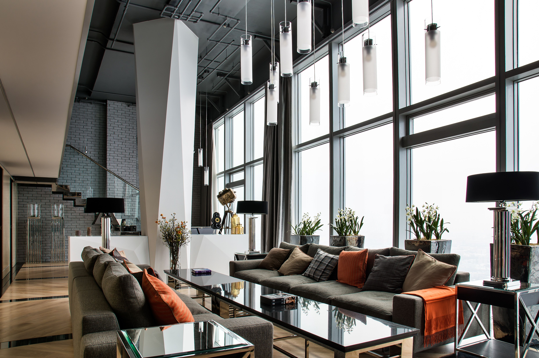 Altercasa | penthouse, Moscow | ks design | Pinterest