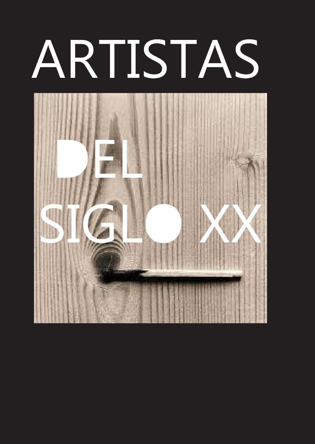 Artistas siglo XX